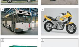 Классификация транспортных средств по типу кузова