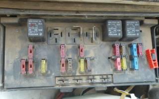 Монтажный блок ваз 21074 инжектор