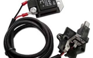 Схема подключения регулятора напряжения к генератору