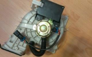 Ремонт двигателя печки ваз 2110