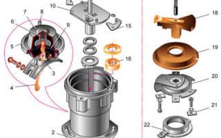 Схема бесконтактной системы зажигания ваз 2108
