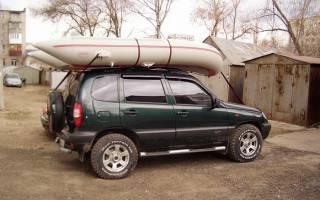 Перевозка лодки пвх на багажнике автомобиля