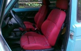 Кресла на ниву 21213