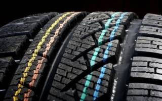 Что означает зеленая точка на шинах