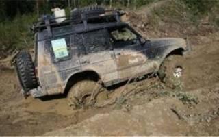 Проходимость машин по грязи