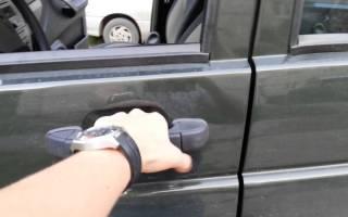 Что делать если закрылась машина