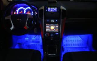 Свет в салоне автомобиля своими руками