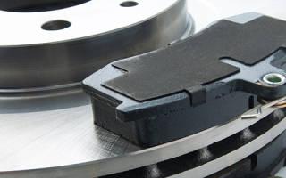Передние и задние тормозные колодки разница