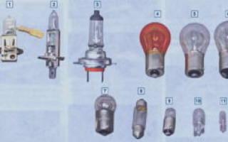 Лампы подсветки приборной панели 21214