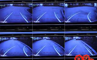Настройка динамических линий камеры заднего хода