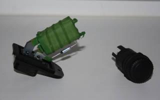 Приора резистор печки где стоит