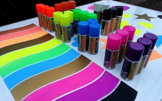 Краска в баллонах для авто
