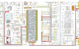 Схема подключения стоп сигналов ваз 2109