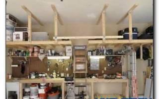 Нужные приспособления для гаража своими руками