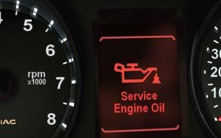 Сроки смены масла в двигателе