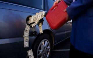 Почему машина стала расходовать больше бензина