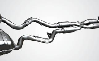 Система выхлопа отработанных газов