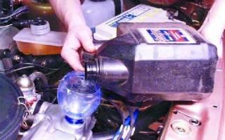 Сколько надо масла в двигатель ваз 2109