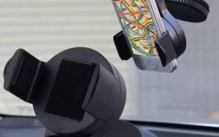 Крепление телефона на панель автомобиля