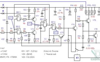 Октан корректор импульс 310 схема подключения