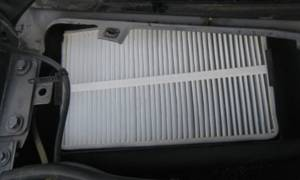 Фильтр салона лада калина без кондиционера