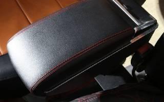 Подлокотник на заднее сиденье своими руками