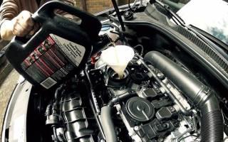 Сколько моторного масла нужно для замены