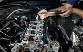 Снятие и разборка двигателя