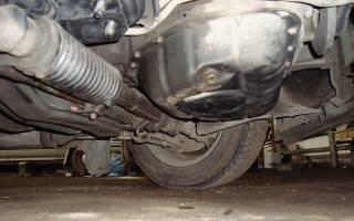 Чем заклеить алюминиевый поддон двигателя