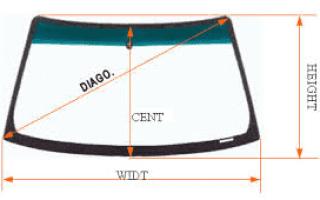 Размеры заднего стекла дэу матиз