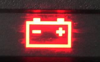 Черная лампочка на аккумуляторе
