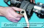Рулевая колонка ваз 2106 ремонт своими руками