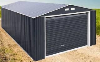 Сколько весит металлический гараж 3х5 толщина 3
