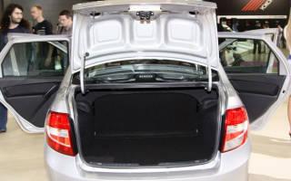 Объем багажника лада гранта хэтчбек