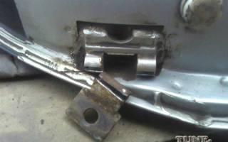 Ремонт дверных петель приора