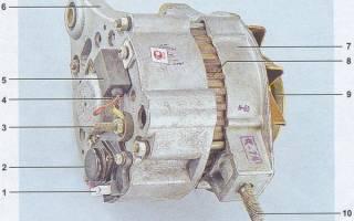 Контактные кольца генератора ваз 2107
