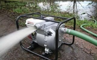Почему мотопомпа не качает воду