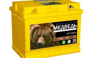 Отзывы об аккумуляторе медведь тюмень