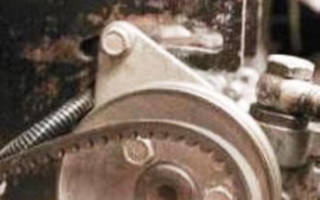 Нива шевроле замена башмака натяжителя цепи