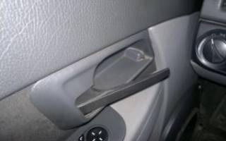 Не открывается пассажирская дверь на приоре